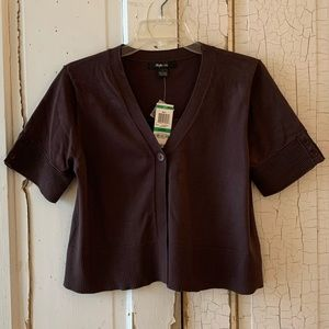 Style & Co brown shrug Size Large New With Tags